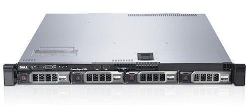 Dell R320 1U/ 1x Xeon E5-2407V2/16GB/1x 240GB SSD/ 4x 500GB HD/ Recondicionado Grade A
