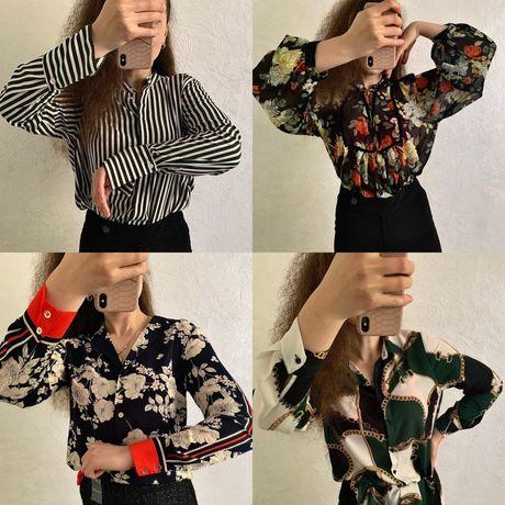 H&M, OASIS рубашки