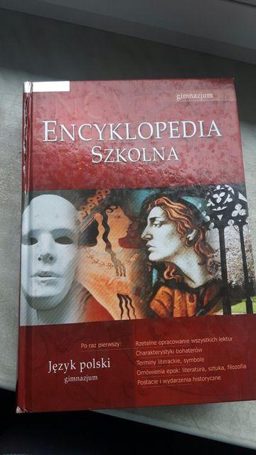 Encyklopedia szkolna Język polski gimnazjum