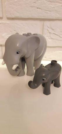 Rodzina słoni lego duplo zoo