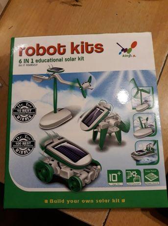 """Sprzedam zestaw """"6 in 1 educational solar kit robot kits"""""""