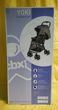 Коляска легкая прогулочная YOKI Cosmic Baby Xpedition + муфта