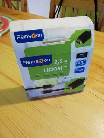 Kabel HDMI Reinston 2,5 m TANIO!!!