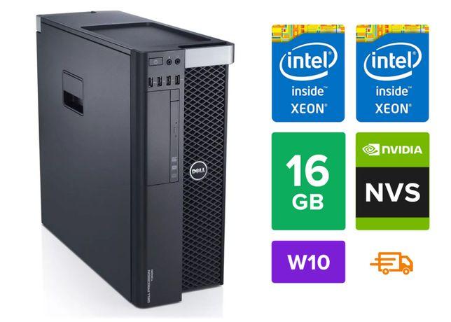 Гарантия Dell 7810 2x E5-2609 v3/16/256 DDR4 Xeon LGA2011 Сервер 1с