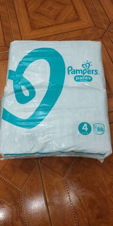 Памперсы трусики Pampers pants 4, 88шт, 9-15кг