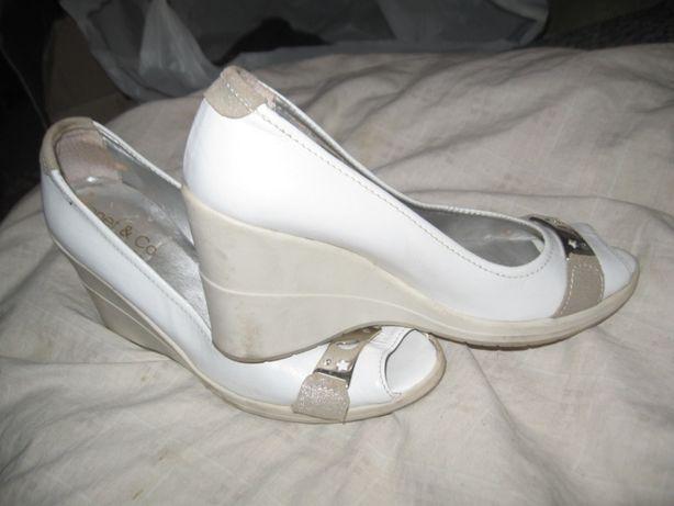 Летние туфли на манке-24,5см