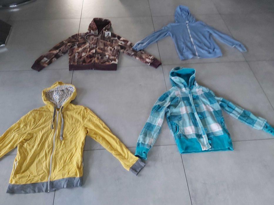 _ 4 bluzy z kapturem _ bluzo- kurtka CROPP roz.M _ Zebrzydowice - image 1