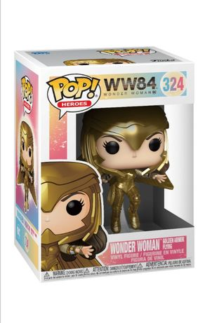 Funko Pop  DC WonderWoman golden armor flying #324