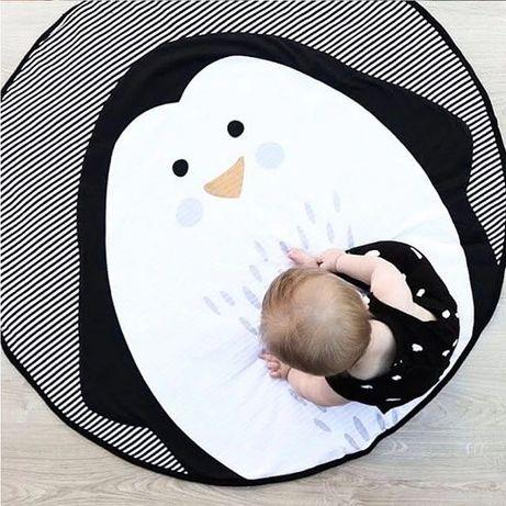 Mata Dywanik dla dzieci Pingwin