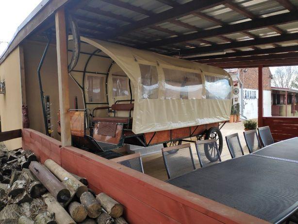 Bryczka Wagonetka Wóz taborowy