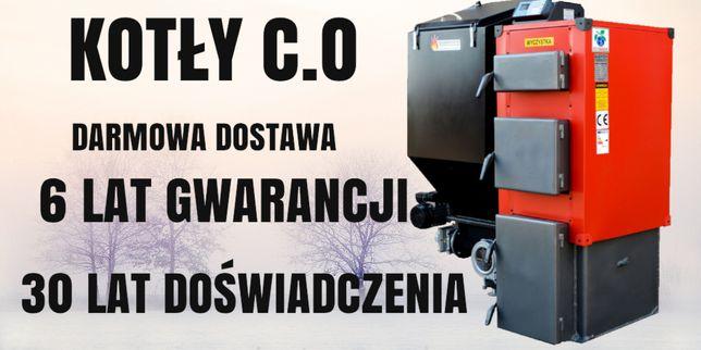 50 m2 Kociol 8 kW na Ekogroszek z PODAJNIKIEM piece KOTŁY 5 6 7