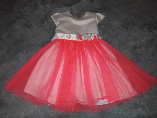Sukienka dziewczęca r. 110
