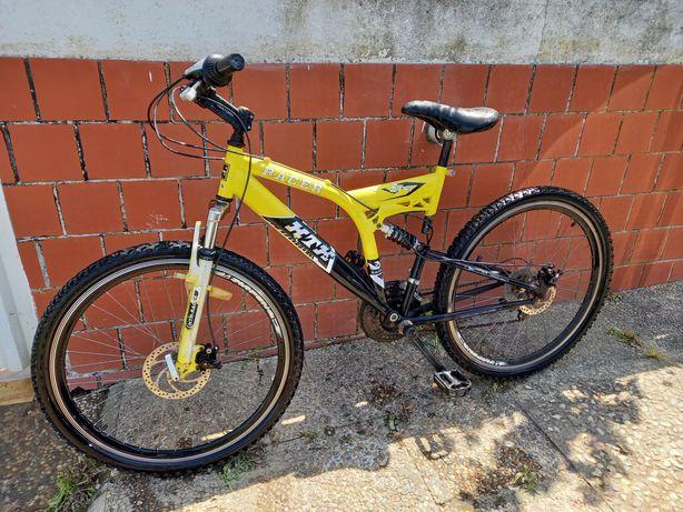 Bicicleta Roda 26 - Suspensão total 21 vel.