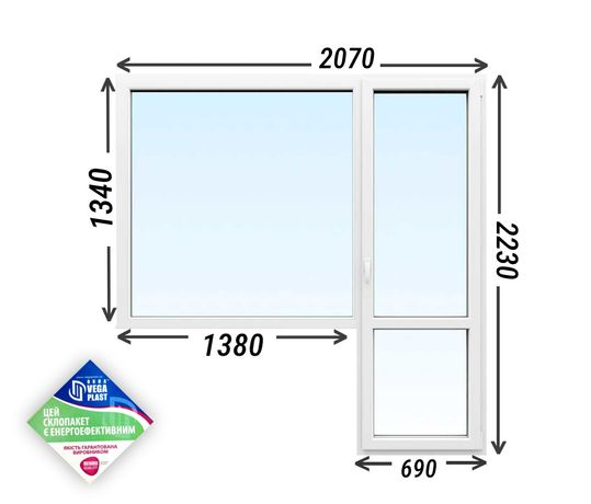 Окна Rehau Ecosol