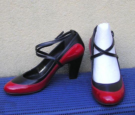 energetyczne pantofelki jak do tańca oryginał lata 90 retro vintage 36