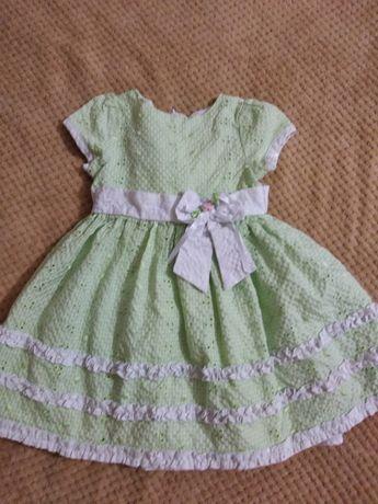 Платье на девочку 1 - 2 годика