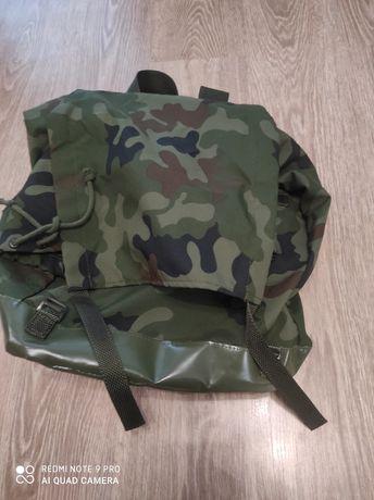 Plecak wojskowy.