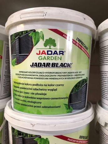 Impregnat koloryzujący Jadar Black 2,5L ogrodzenia betonowe
