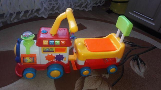 Детский паравозик