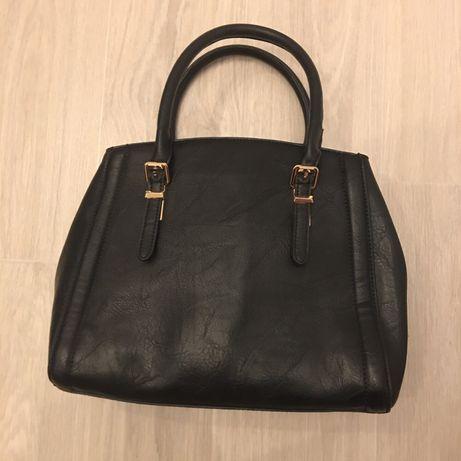 Женская черная сумочка zara