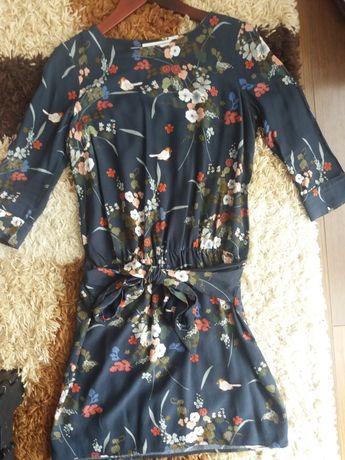 sukienka PROMOD rozmiar 36 - s. z wiązaniem