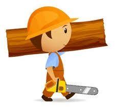 Пильщик дров,  вальщик деревьев