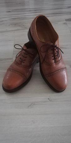 Eleganckie buty Gordon & Bros ze skóry naturalnej 43 dł.Wkladki 28 cm