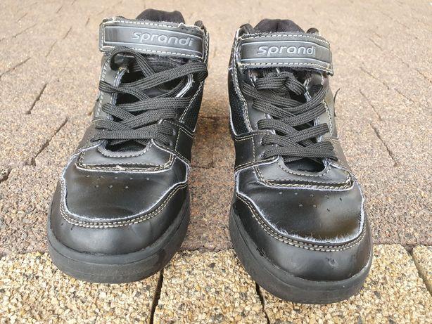 Buty wyższe adidasy rozmiar 35 chłopięce