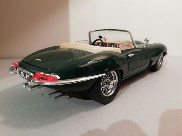 Jaguar E-Type  Verde Inglês