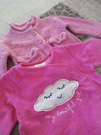 zestaw sweter i bluza rozmiar 68 Cool Club i Pepco