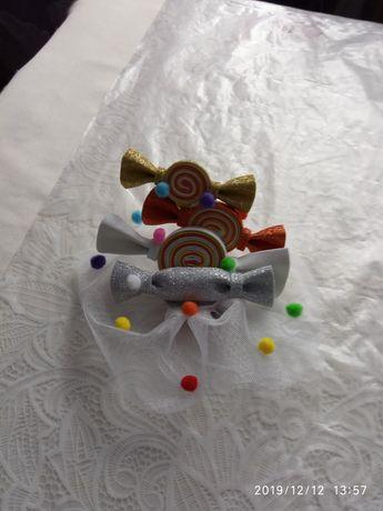 Ободок заколка цукерка конфетка