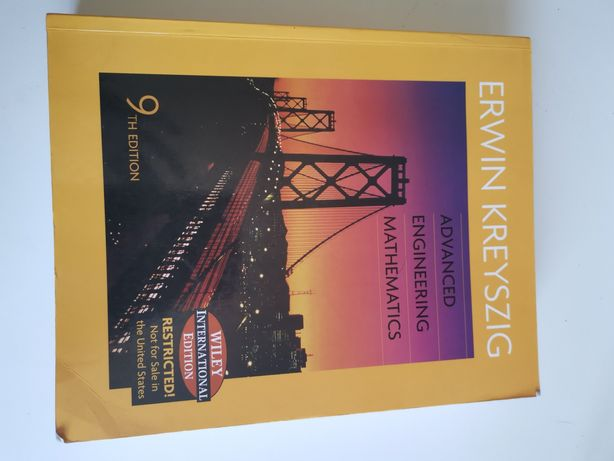 Advanced Engineering Mathematics - Kreyszig