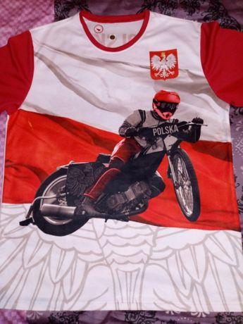 Koszulka żużel Polska roz.XL zobacz!!!