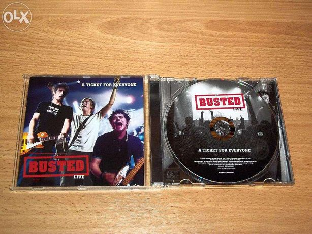 Busted - A Ticket For Everyone (CD)
