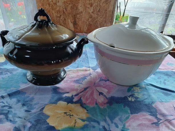 Супницы фаянсовая и керамическая времён ссср