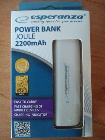 Power Bank Esperanza 2200 mAh NOWY