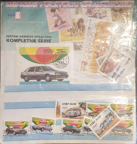 Znaczki pocztowe zagraniczne