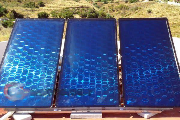 Painel Solar Termico Novos Certificados 10Anos garantia.