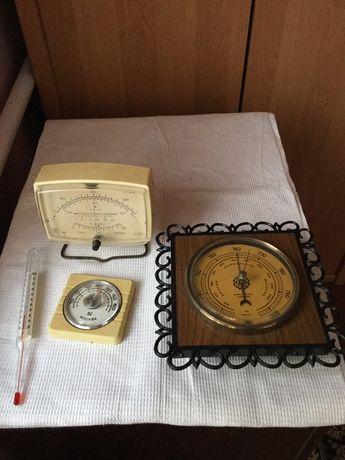 Барометры термометры