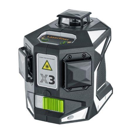 Nível Laser de cruz auto-nivelamento LASERLINER X3-Laser Pro