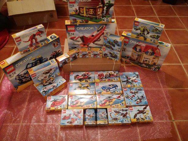 Set LEGO Creator Novo Selado Material Descontinuado