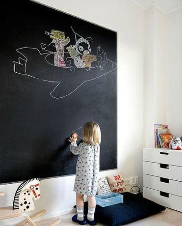 tablica samoprzylepna kredowa dla dzieci domu sklepu restauracji