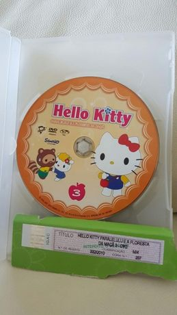 Dvd infantil Hello kitty