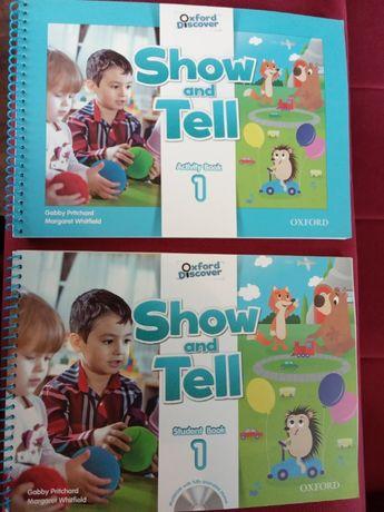 Show and Tell Student Book plus Activity Book 1 angielski dla dzieci
