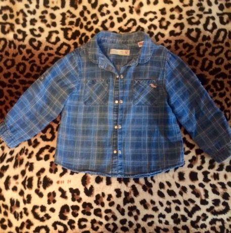 Рубашка джинсовая Zara BabyGirl