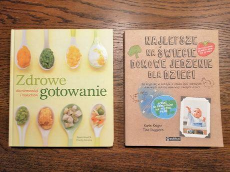 Zdrowe gotowanie dla dzieci - książki kucharskie