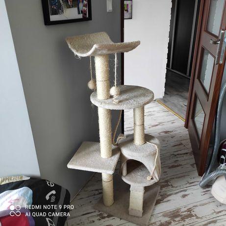 Drapak dla kota mało używany