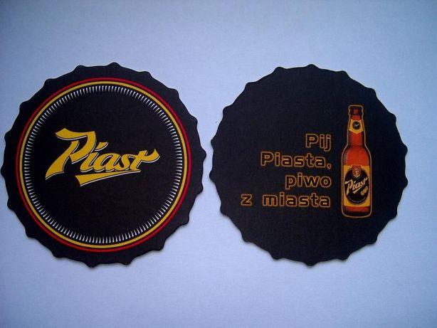 Podstawka pod piwo Pij Piasta Browary Dolnośląskie Piast - rarytas !