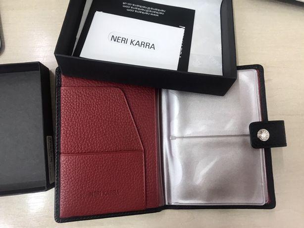 Визитница Neri Karra кошелёк портмоне для прав документов