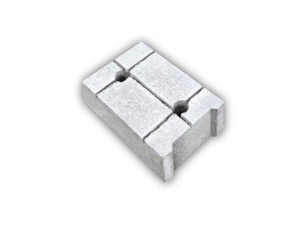 Bloczek betonowy fundamentowy bloczki Małrus 38/24/14 cm Malro Małro